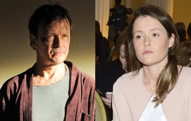 Olga Frycz bardzo przejęła się stanem zdrowia swojego ojca /Paweł Przybyszewski, Jarosław Antoniak /MWMedia