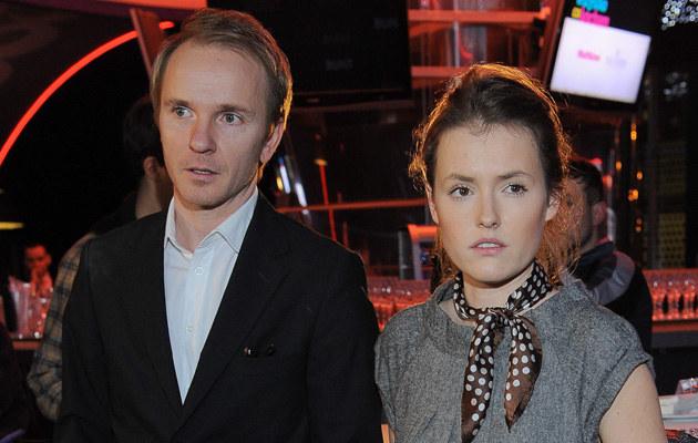 Olga Frycz i Jacek Borcuch /Paweł Przybyszewski /MWMedia