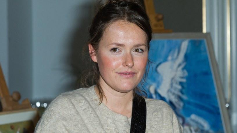 Olga Frycz pochwaliła się swoim salonem /Artur Zawadzki /East News
