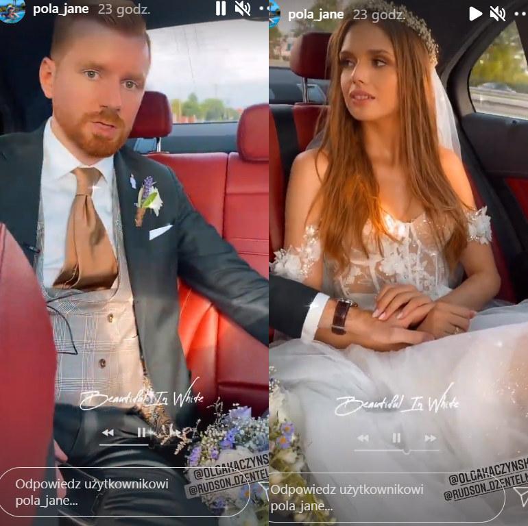 Olga Kaczyńska wyszła za mąż   /https://www.instagram.com/pola_jane/ /Instagram