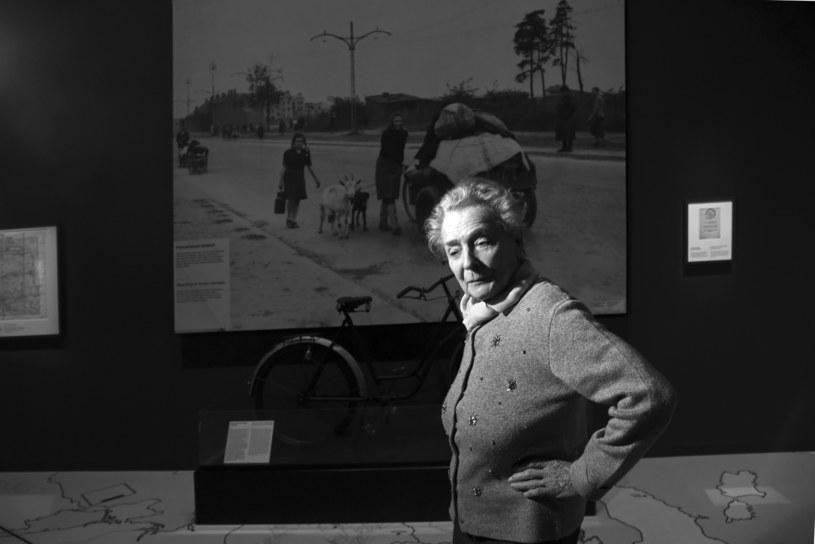 Olga Krzyżanowska w Muzeum II Wojny Światowej /M. Lasyk /Reporter