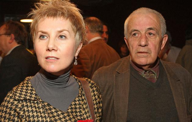 Olga Sawicka, Zbigniew Zapasiewicz, fot.Marcin Dławichowski  /Agencja FORUM