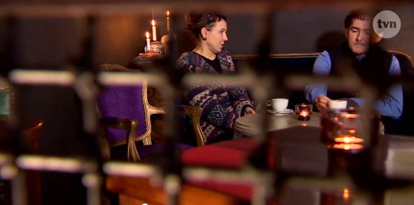 Olga Tokarczuk i jej mąż wystąpili niegdyś w materiale TVN-u /TVN