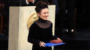 Olga Tokarczuk odebrała literackiego Nobla. Jej sukienkę zaprojektowała Gosia Baczyńska