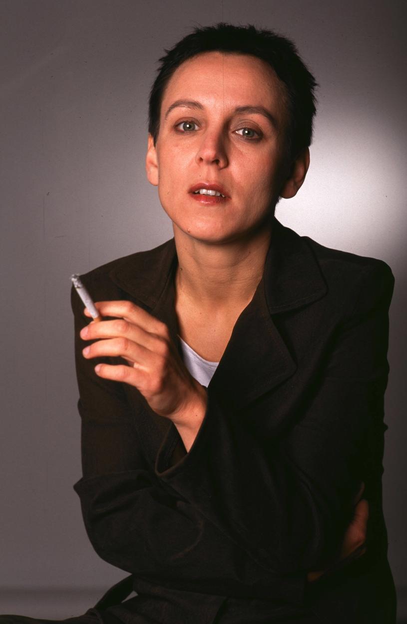 Olga Tokarczuk w latach 90. /Andrzej Hrechorowicz /Agencja FORUM
