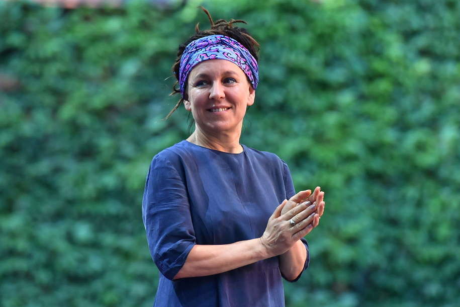 Olga Tokarczuk została lauretką literackiego Nobla za rok 2018 / Maciej Kulczyński    /PAP