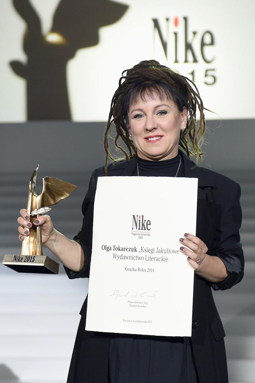 Olga Tokarczuk /Piętka Mieszko /AKPA
