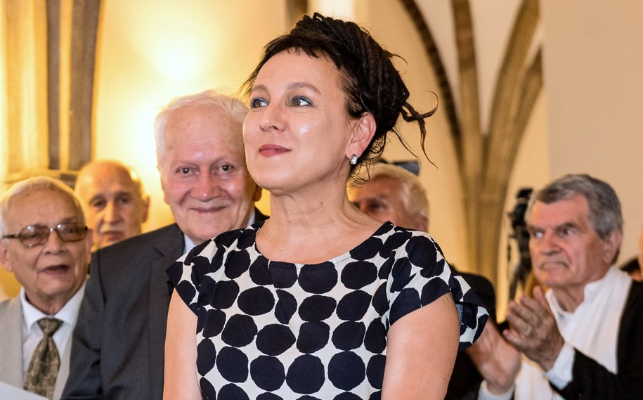 Olga Tokarczuk / Maciej Kulczyński    /PAP
