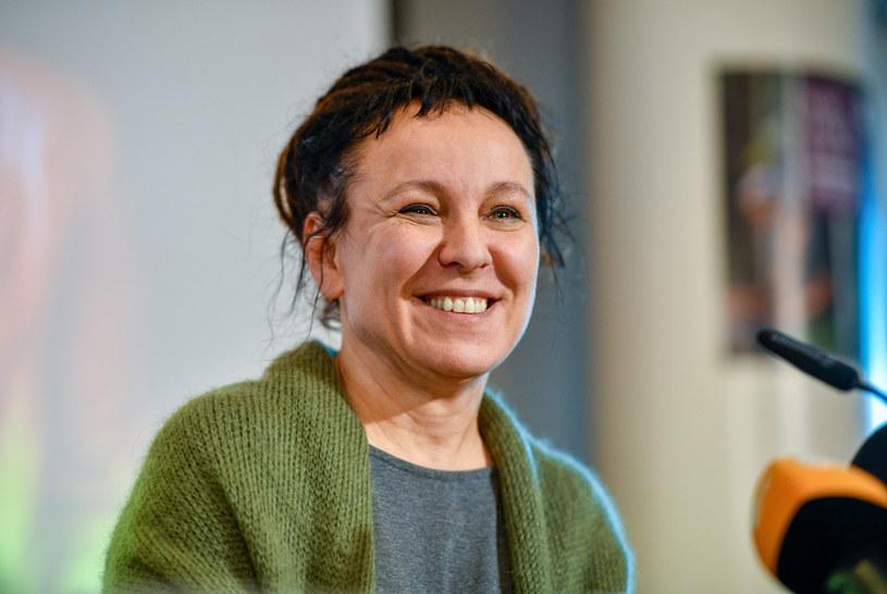 Olga Tokarczuk /Sascha Schuermann  /AFP
