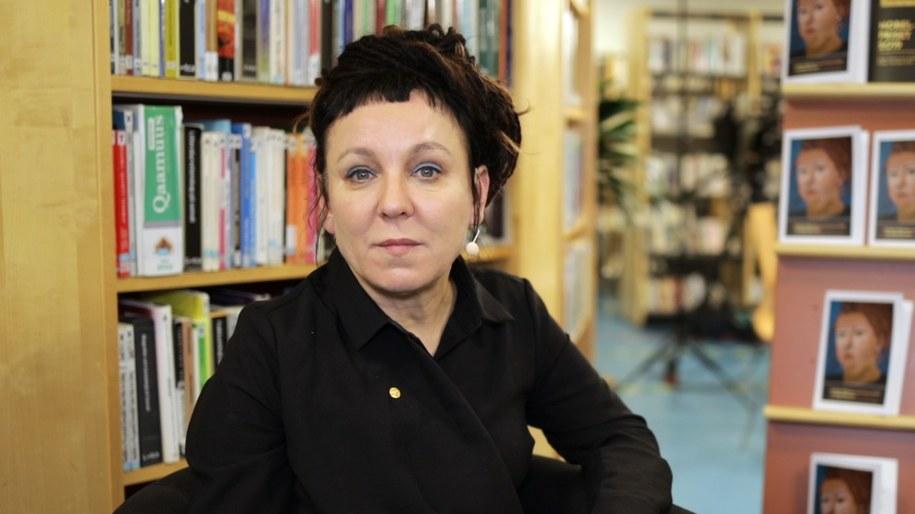 Olga Tokarczuk /Michał Dukaczewski /RMF FM