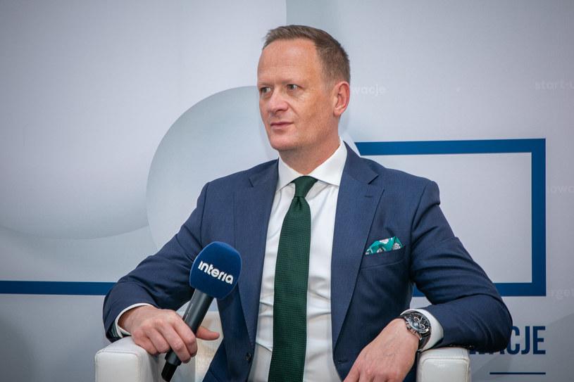 Olgierd Cieślik, prezes Totalizatora Sportowego /Fot. Ireneusz Rek /INTERIA.PL