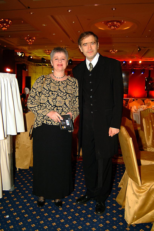 Olgierd Łukaszewicz z żoną /Niemiec /AKPA