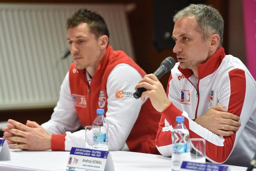 Olieg Achrem i Andrzej Kowal /Jacek Bednarczyk /PAP