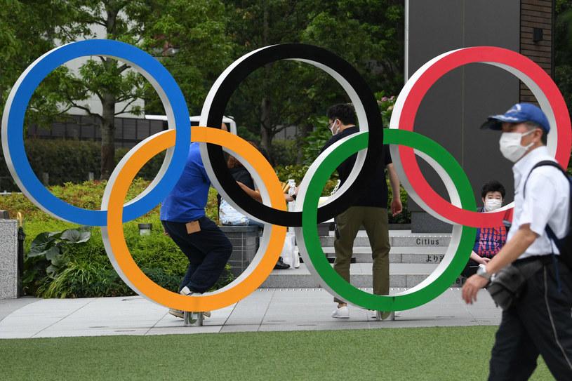 Olimpiada już za 9 dni. Tymczasem w Tokio coraz więcej osób zakaża się SARS-CoV-2 /KAZUHIRO NOGI/AFP /East News