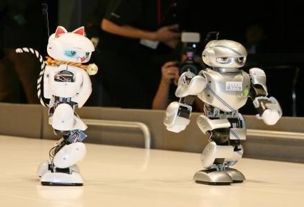 Olimpiada robotów - roboty coraz częściej wkraczają w nasze życie /AFP