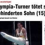 Olimpijczyk z Seulu Juergen Bruemmer zabił syna i siebie