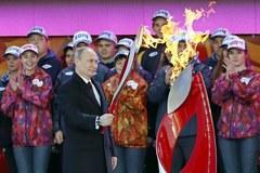 Olimpijski ogień dotarł na Plac Czerwony