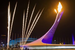 Olimpijski ogień w Soczi!