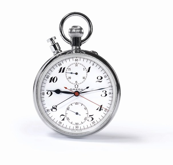 Olimpijski stoper firmy Omega z 1936 roku zrewolucjonizował odmierzanie czasu w sporcie /materiały prasowe