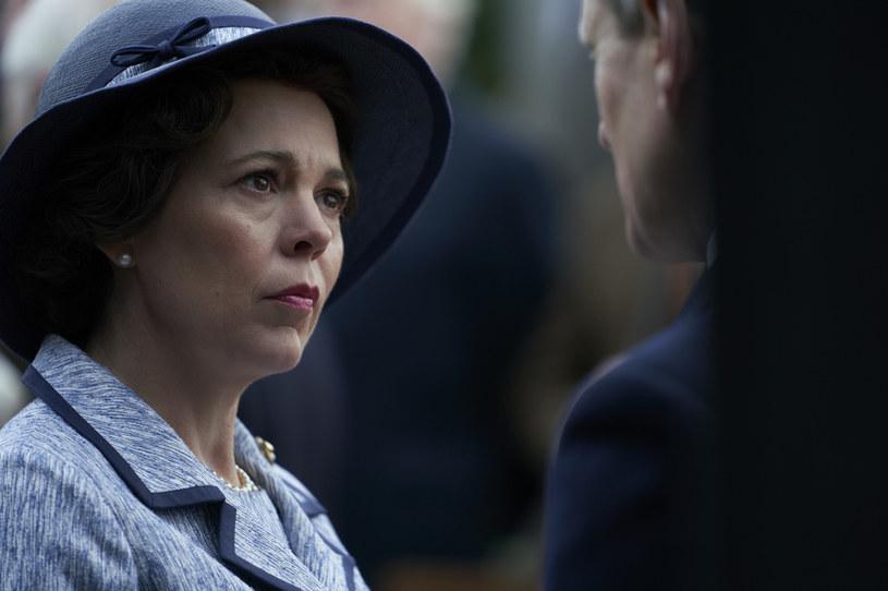 """Oliva Colman w serialu """"The Crown"""" /Des Willie/Netflix /materiały prasowe"""