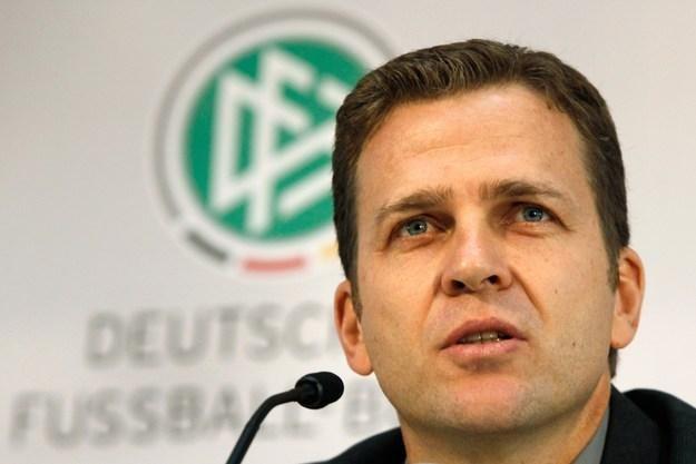 Oliver Bierhoff - dyrektor reprezentacji  Niemiec. /AFP