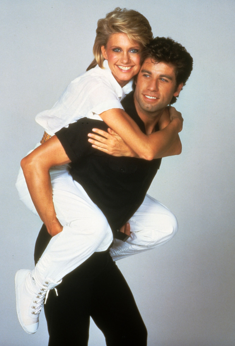 Olivia Newton-John i John Travolta /East News