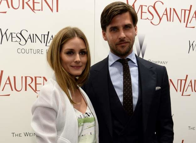 Olivia Palermo i Johannes Huebl /Getty Images