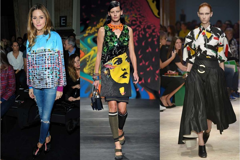 Olivia Palermo, kolekcja Celine, Prada /Getty Images/Flash Press Media