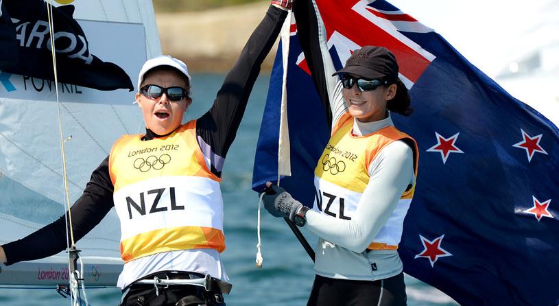 Olivia Powrie (z lewej) i Jo Aleh tworzyły zgrany duet /AFP