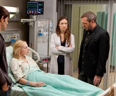 "Olivia Wilde i Hugh Laurie w serialu ""Doktor House"""