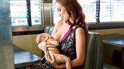 Olivia Wilde karmi piersią