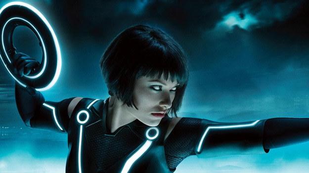 """Olivia Wilde w scenie z filmu """"Tron: Dziedzictwo"""" /materiały dystrybutora"""