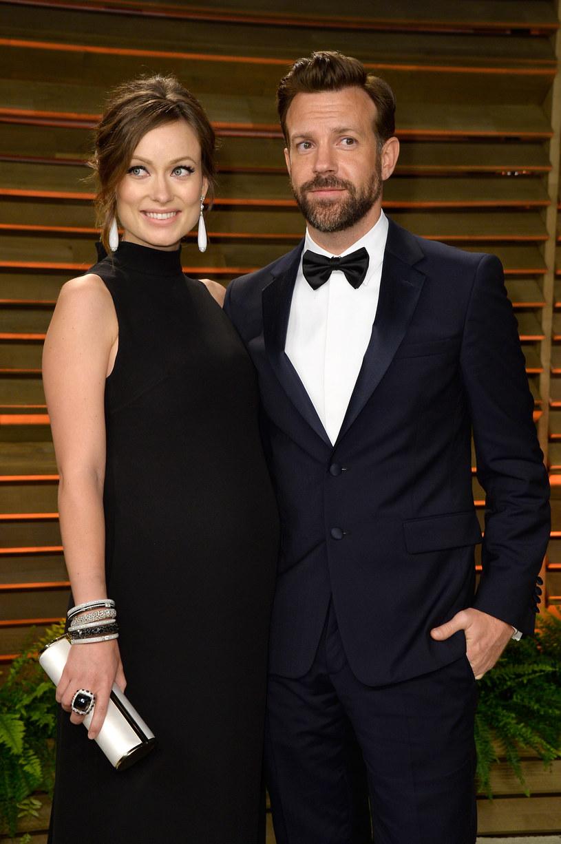 Olivia Wilde z mężem /Getty Images