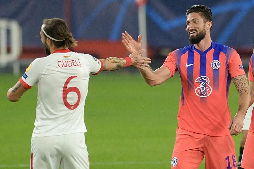 Olivier Giroud strzelił cztery gole w Lidze Mistrzów /AFP