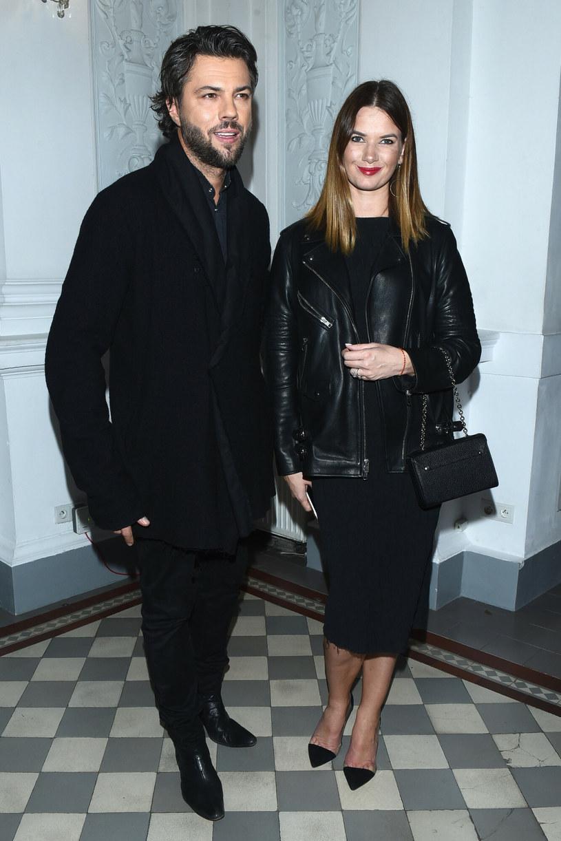 Olivier Janiak i Karolina Malinowska są małżeństwem od 2003 roku /VIPHOTO /East News