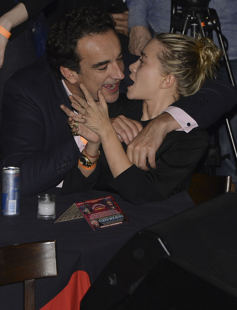 Olivier Sarkozy i Mary-Kate Olsen /Larry Busacca /Getty Images