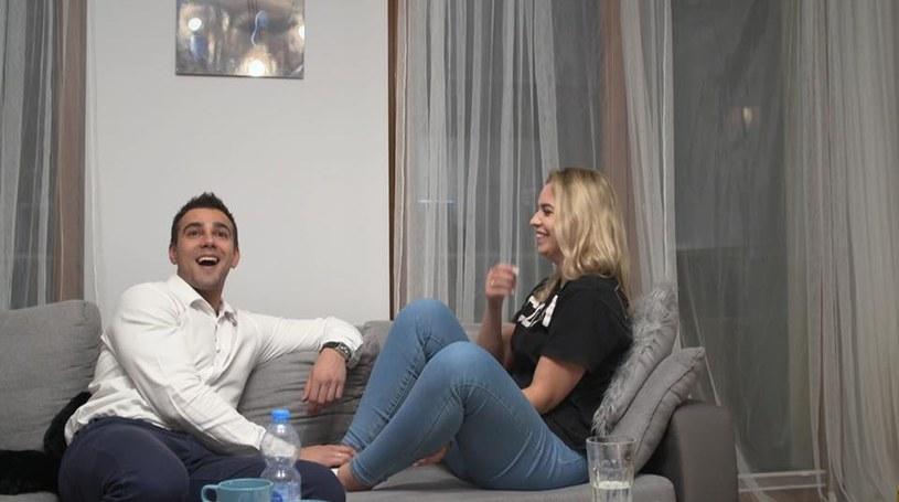 Oliwia i Łukasz /TVN