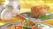 Oliwki  pieczone  w  ziemniakach