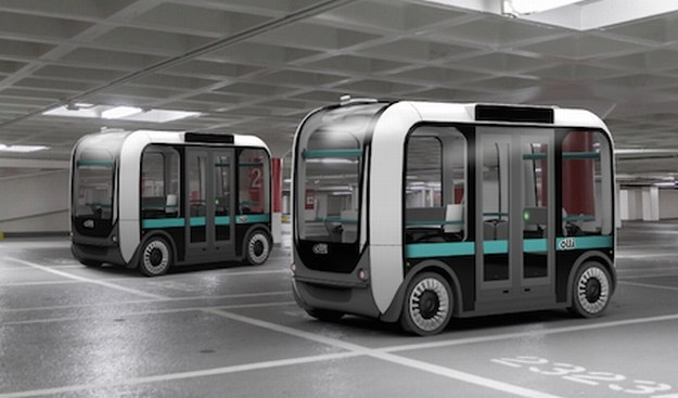 Olli – autonomiczny autobus przyszłości /INTERIA.PL/informacje prasowe