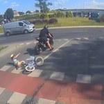 Olsztyn: Potrącił dziewczynkę jadącą rowerem. Będzie proces motocyklisty