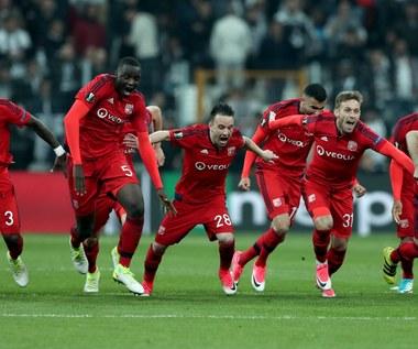 Olympique Lyon w półfinale Ligi Europejskiej! Trafiony karny Rybusa