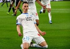 Olympique Marsylia - Olympique Lyon 1-1 w meczu 27. kolejki Ligue 1. Gol Arkadiusza Milika