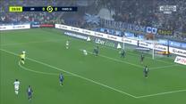 Olympique Marsylia - PSG. Arkadiusz Milik trafił do siatki, jednak sędzia nie uznał gola. WIDEO (Eleven Sports)