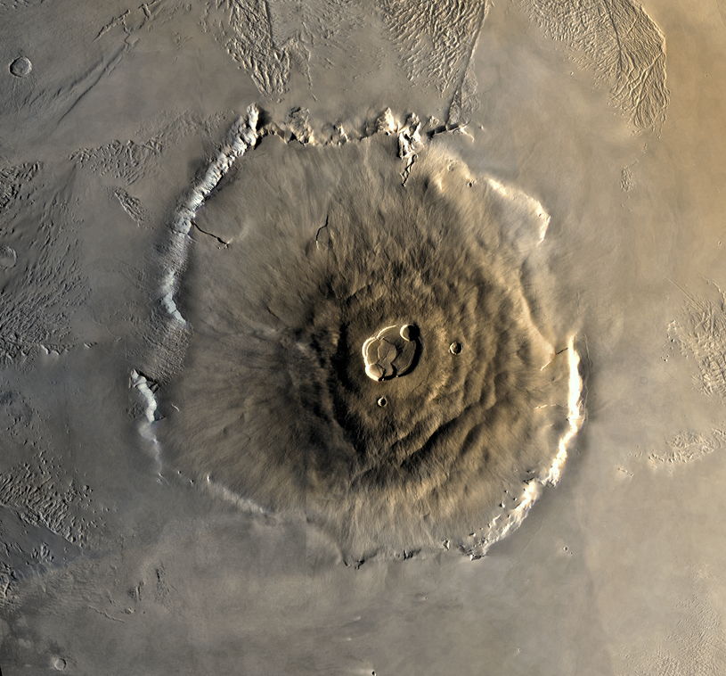 Olympus Mons na Marsie /NASA