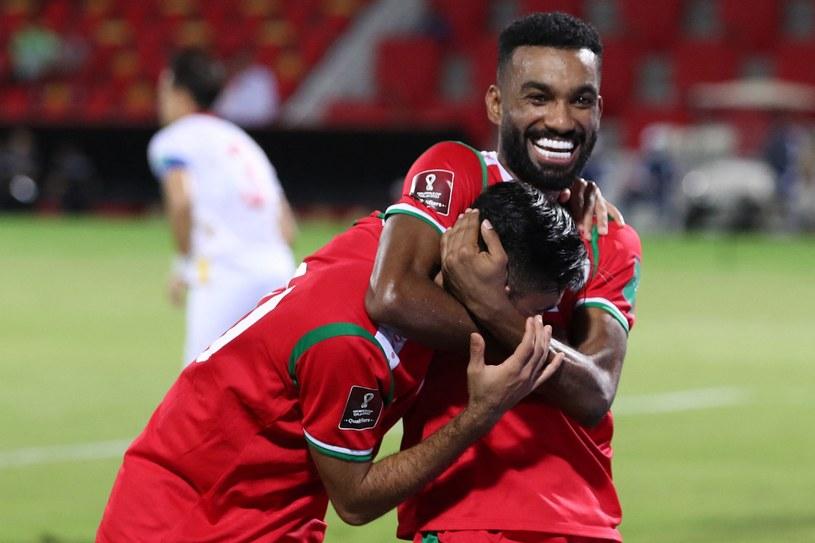 Oman w meczu z Wietnamem /AFP