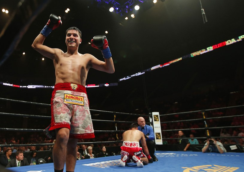 Omar Figueroa Jr pokonał Roberta Guerrero /AFP