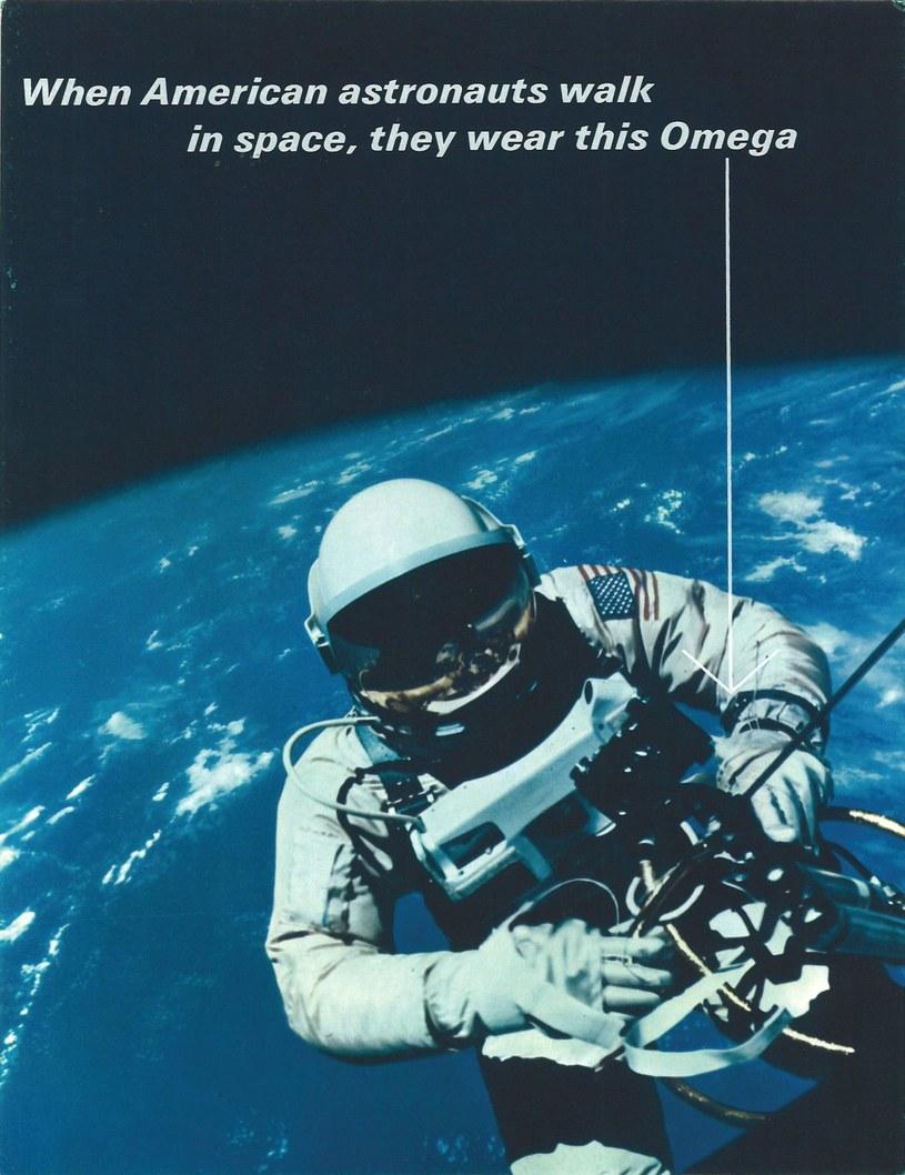 Omega i NASA - współpraca trwa od 1965 roku /materiały prasowe