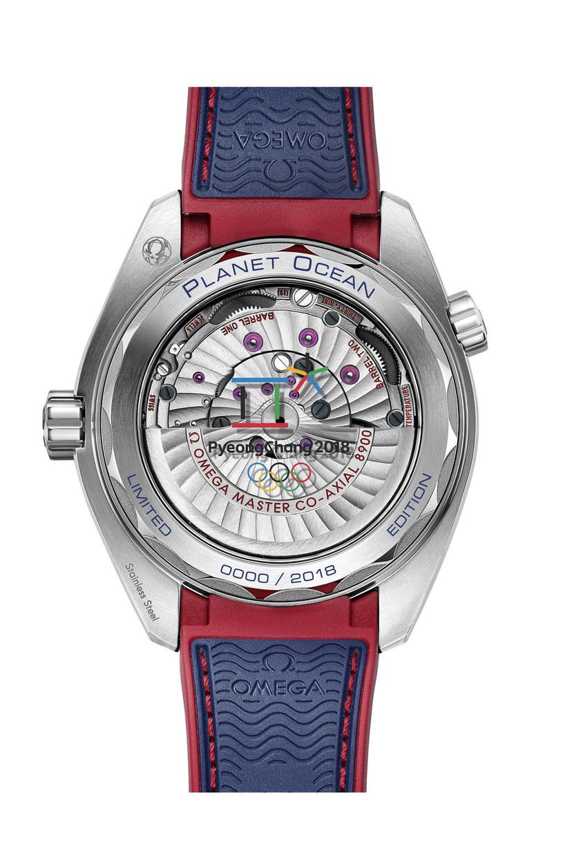 Omega przygotowała specjalną kolekcję zegarków na IO w Pjongczangu. /INTERIA.PL