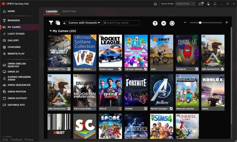 OMEN Gaming Hub /materiały prasowe