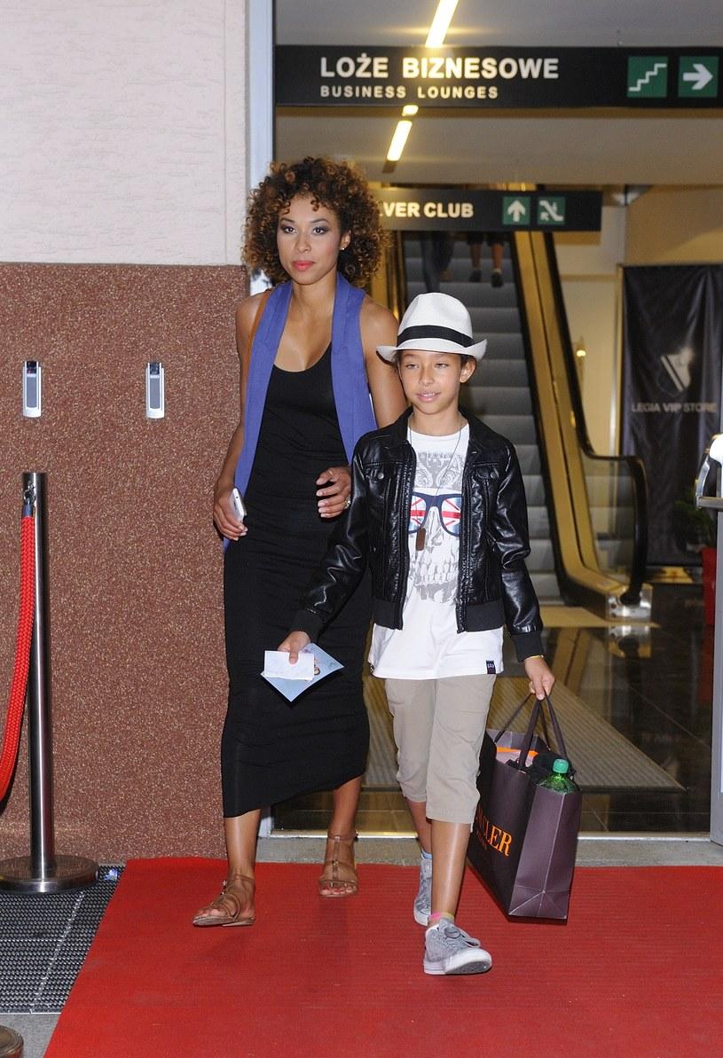 Omena z córką Vanessą /Antoniak /MWMedia